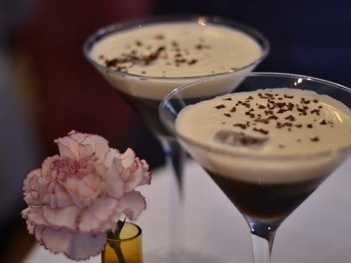 cold chocolate martini