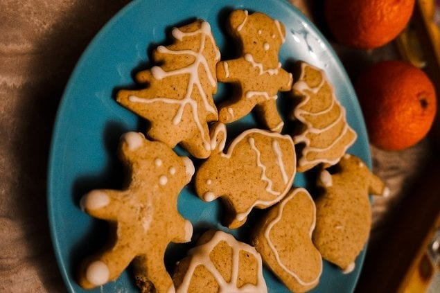 Gingerbread with Orange Glaze