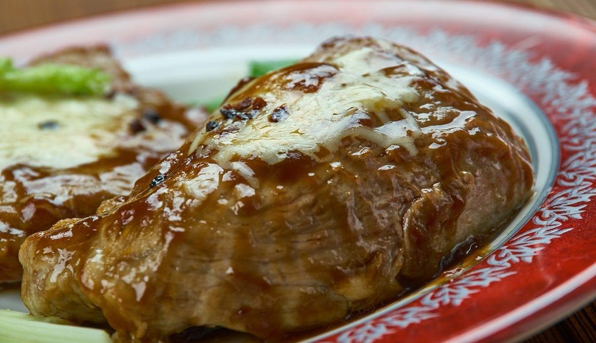 glazed brown sugar and garlic pork chops