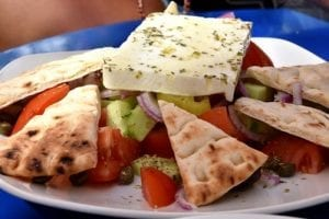 Greek Salad Sandwich Recipe