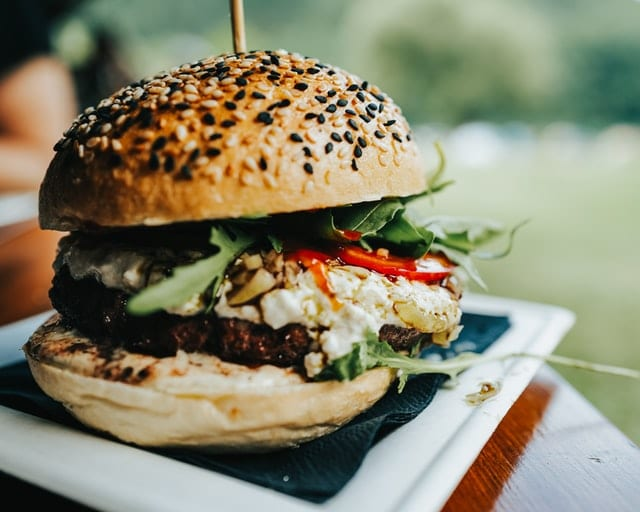 Greek-Style Burgers with Tzatziki Recipe