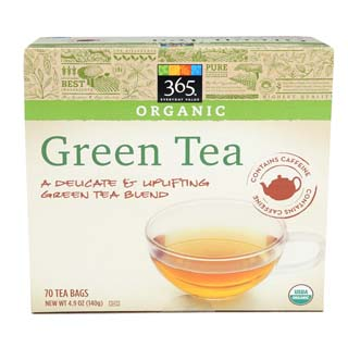 365 Everyday Value, Organic Green Tea