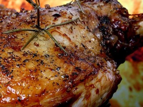 grilled beer chicken