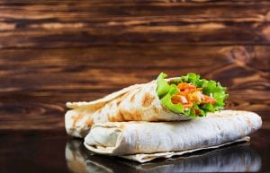 Whole Grain Quinoa & Lentil Wrap