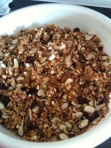 Guiltless Granola Recipe