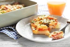 Ham and Egg Crescent Bake Recipe