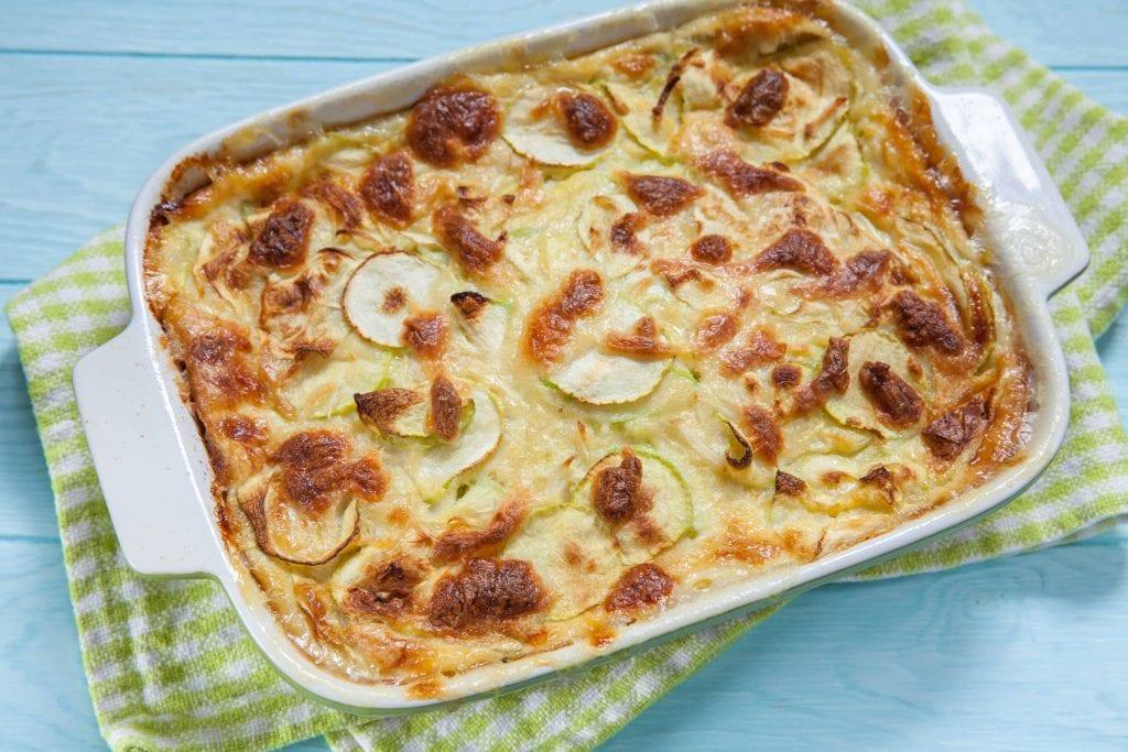 Ham, Potato, and Zucchini Casserole