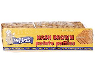 Mr Dees, Hashbrown Patties