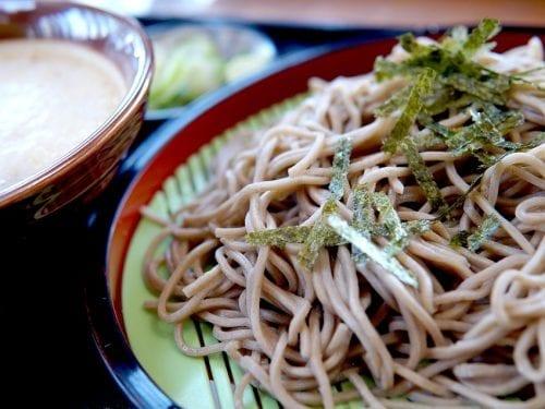 healthy soba noodles