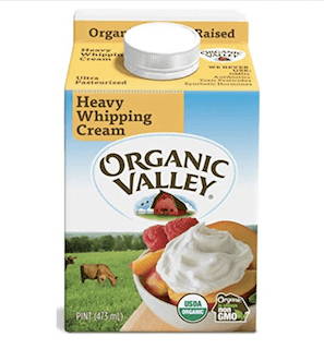 Organic Valley, Organic Heavy Whipping Cream