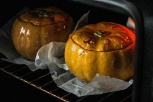 Herb Stuffed Pumpkins Recipe