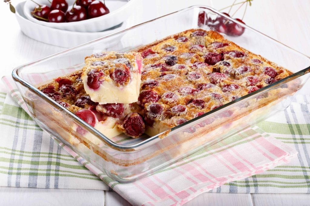 Holiday Cherry Squares Recipe