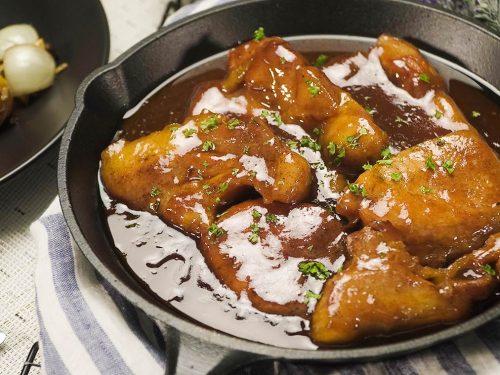 Honey Barbecue Pork Chops Recipe