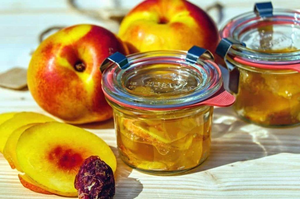 Honey Peach Jam Recipe