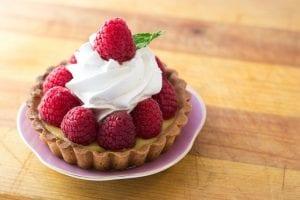 Improvised Raspberry Honey Tarts Recipe
