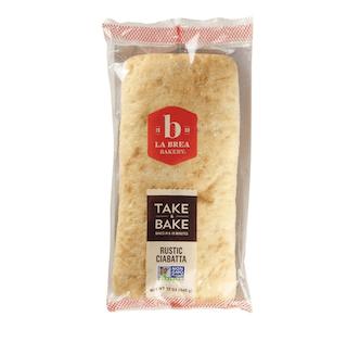 La Brea Bakery Take & Bake Rustic Ciabatta Loaf