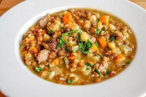 Italian Ham and Bean Soup Recipe