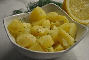 Jamie Oliver's Potato Salad with Lemon and Dill Recipe