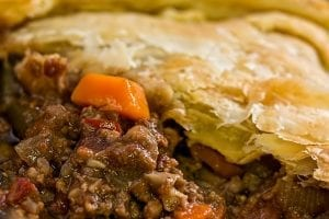 Juicy Meat Pie Recipe