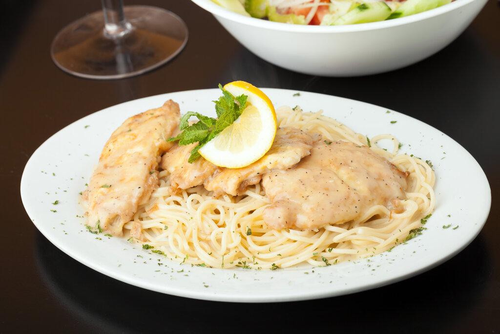 Lemon Chicken Pasta Recipe, creamy lemon chicken recipe with garlic and parmesan