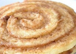 Life Changing Cinnamon Roll Pancakes Recipe