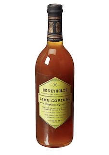 BG Reynolds Natural Tiki Cocktail Cane Syrup, Lime Cordial