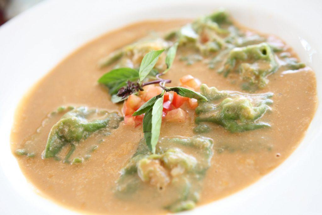 Lobster Ravioli recipe, fine dining red lobster pasta recipe