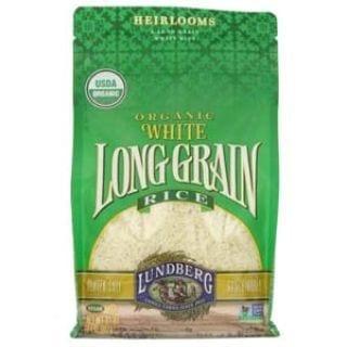 Lundberg Organic White Rice, Long Grain