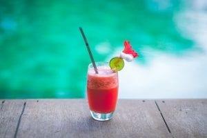 Low-Calorie Strawberry-Kiwi Mock Margarita Recipe