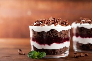 M&Ms Brownie Trifle Recipe