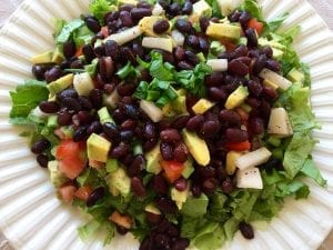 Mango And Black Bean Salad With Grilled Chicken Recipe