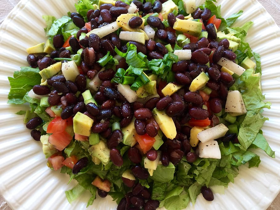 mango and black bean salad recipe