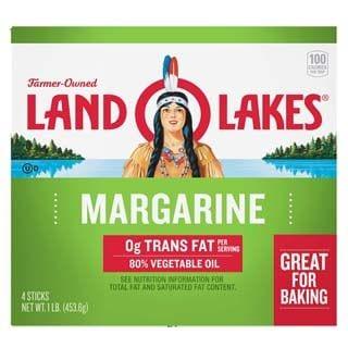 Land O' Lakes, 80% Vegetable Oil Margarine Sticks