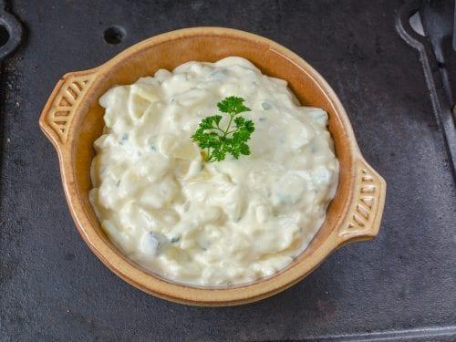 delicious mayonnaise potato salad
