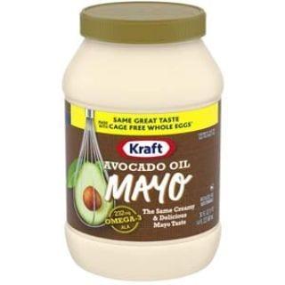 Kraft Avocado Oil Reduced fat Mayonnaise