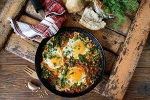 Mexican Fried Eggs And Salsa Recipe