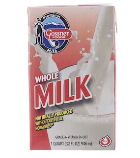 Shelf Stable Whole Milk