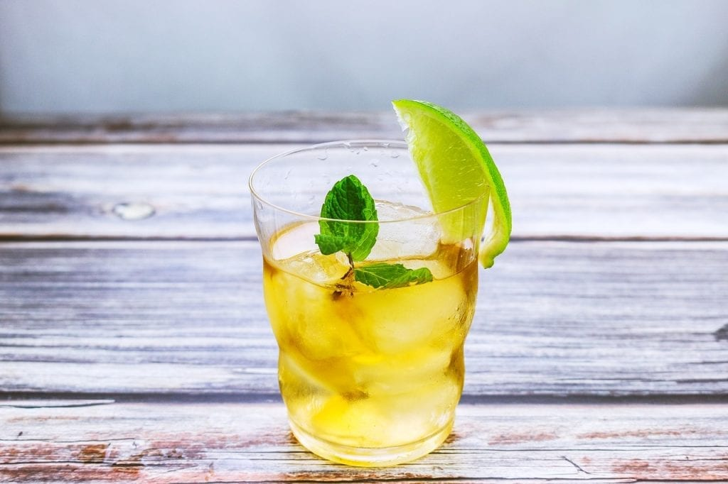Mint and Lemon Iced Tea Recipe
