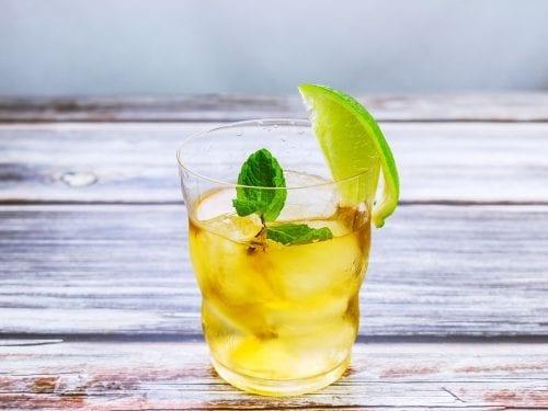 mint and lemon iced tea recipe