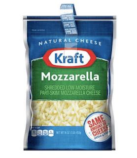 Kraft Cheese Mozzarella Shredded