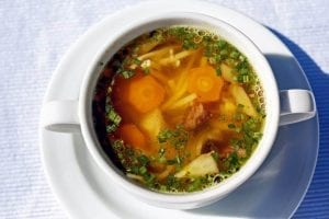 My Mother's Garden Vegetable Soup Recipe