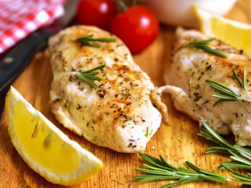 Oven-baked Rosemary Chicken Breast Recipe