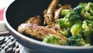Pan-Fried Salmon With Potatoes And Broccoli Recipe