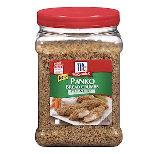 McCormick Italian Herb Panko Bread Crumbs