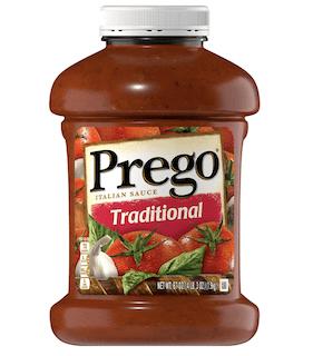 Prego Pasta Sauce, Traditional