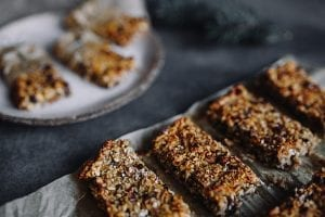 Peanut Butter-Coconut-Raisin Granola Bars Recipe