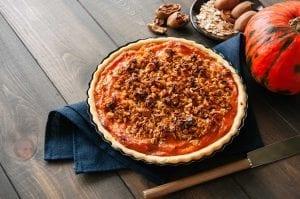Pecan Glazed Pumpkin Pie Recipe