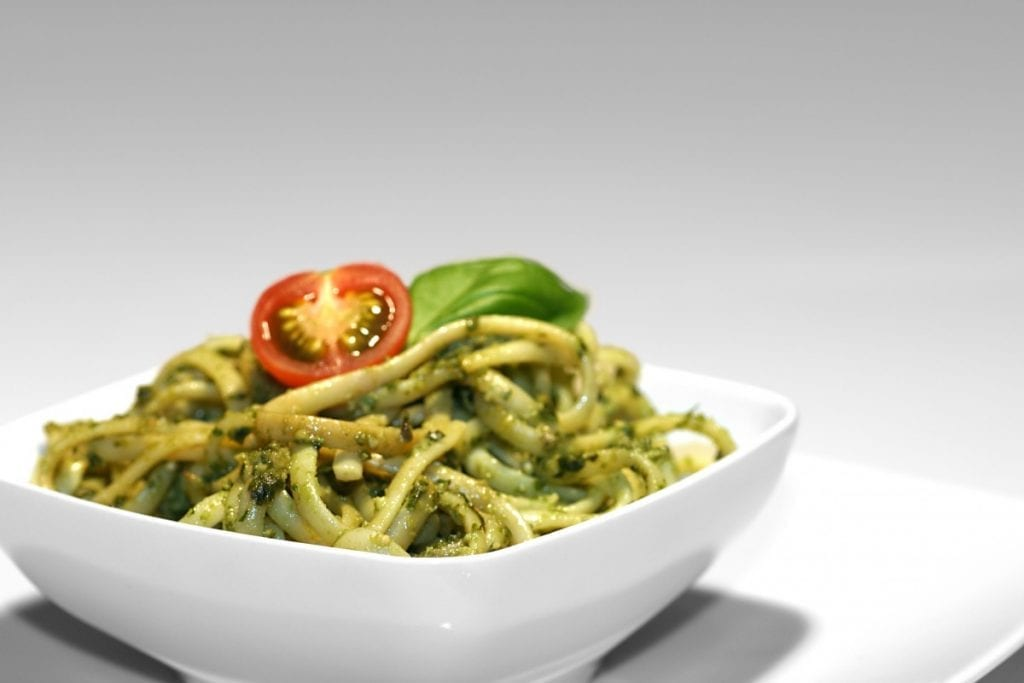 Wolfgang Puck's Perfect Pesto for Summertime Pasta Recipe