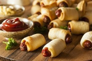 Pigs in a Phyllo Blanket Recipe