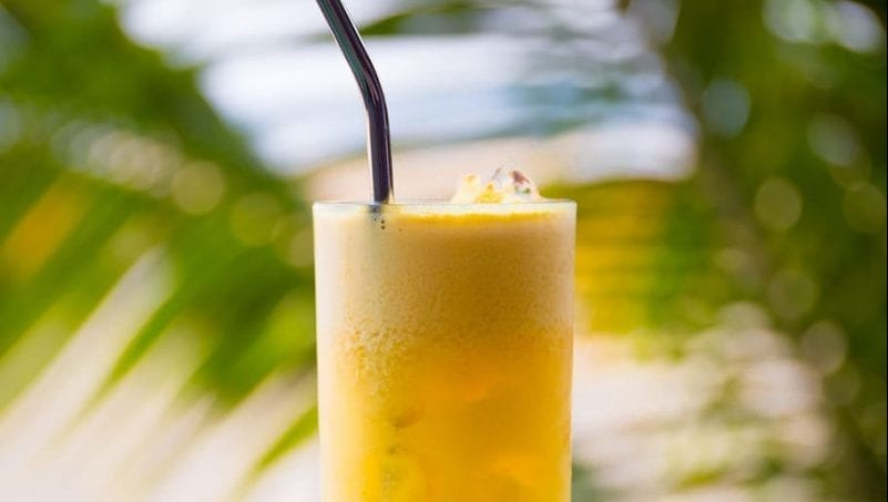 healthy pineapple iced tea